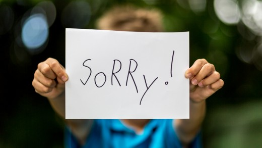 Always apologize whenever you bump into or step on someone.