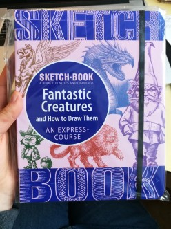 Art Book Review: Fantastic Creatures and How to Draw Them. Is It a Good Sketchbook?