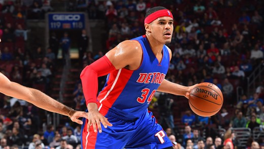 Tobias Harris was the Pistons' leading scorer before being traded scoring 18.1 points per game.