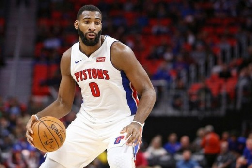 Andre Drummond has increased his free throw percentage (63%) and assists per game (3.8) drastically from last season.
