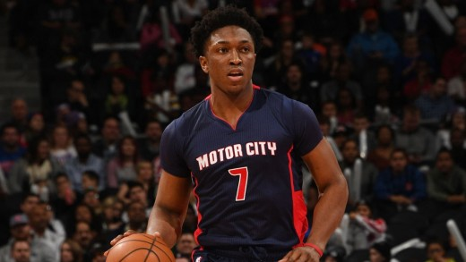 Stanley Johnson scored a career high 26 points to go with ten rebounds and four assists.