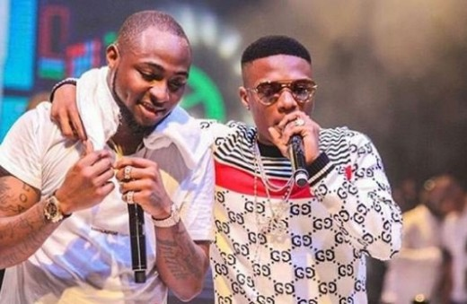 Davido performs with Wizkid at 30 Billion Concert