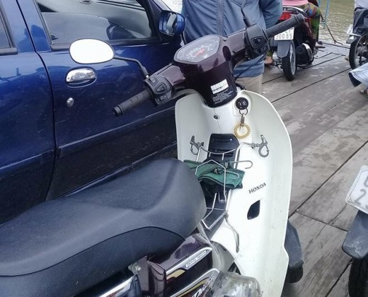 We have donated a motorcycle for a Pastor in Vietnam. Though this motorcycle, he went to everywhere preach the Good News.