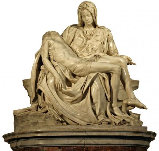 """""""Genius is eternal patience."""" Michelangelo's  Pietà."""
