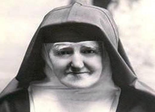 Léonie Martin as an elderly Visitation nun.