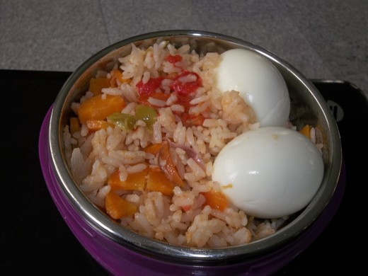 A balanced meal afford good health