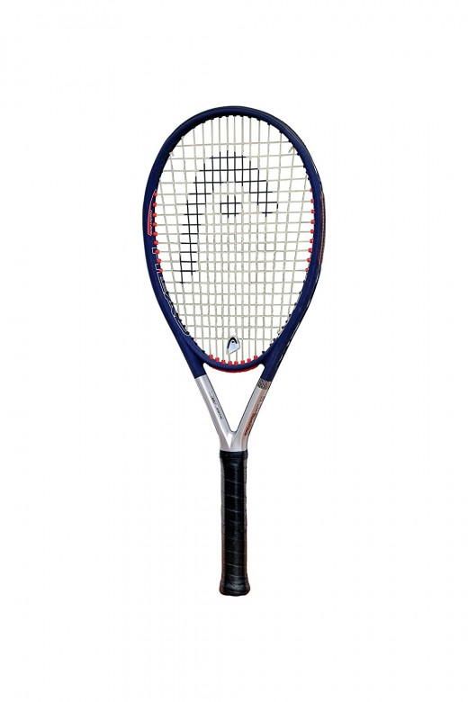 The Head Tis5 Comfortzone Performance. This is a great racket for beginners and players who are susceptible to elbow injuries and other vibration-related aches and pains. It delivers a lot of power without the player without too much effort.
