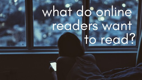 Who Is the Average Online Reader, and What Do They Want!?