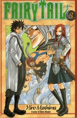 Manga Review: Fairy Tail Volume 3 by Hiro Mashima