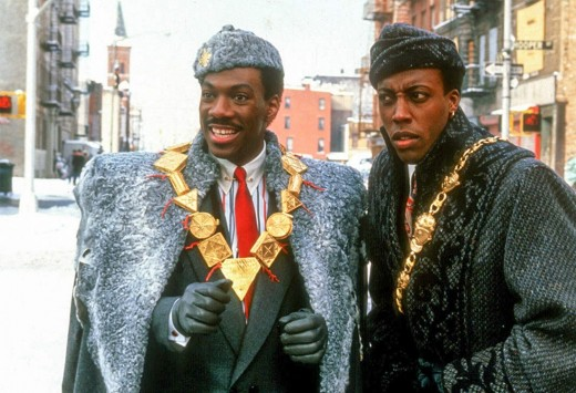 1988's Coming to America starring Eddie Murphy, also starred a mostly Black cast for both its African and New York settings.