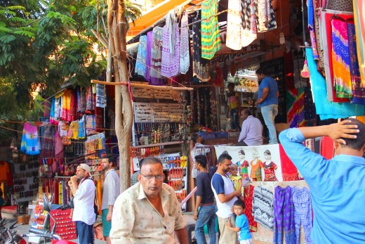 The colorful markets of Jaipur