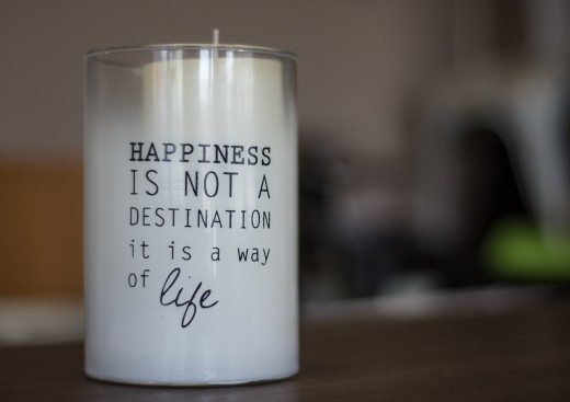 Make a unique statement with candles that give a message