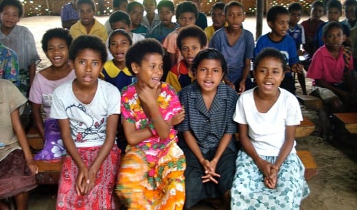 Singing Together in PNG