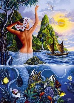 Mermaids in Polynesian Myths and Folklore