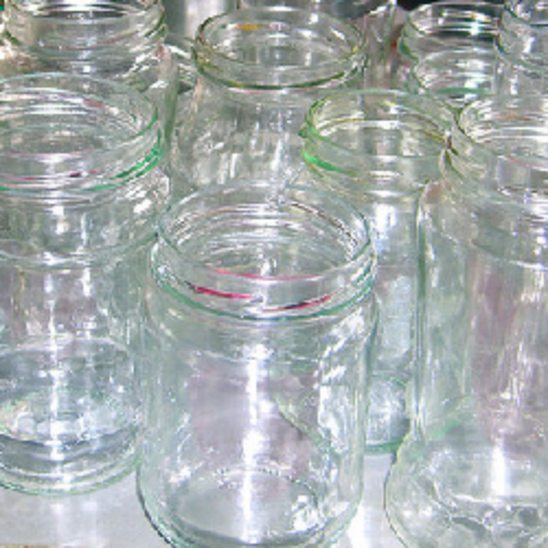 Glass jars for reuse