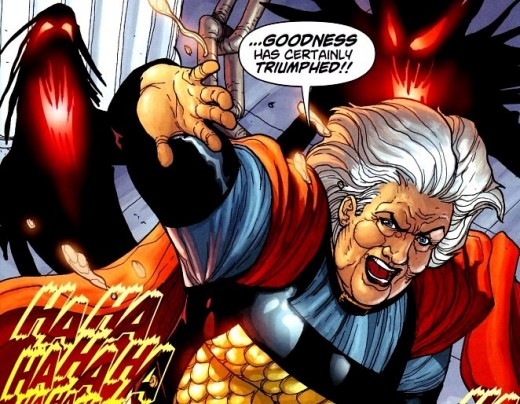 Granny Goodness is the worst of her kind because she preys on the innocent.