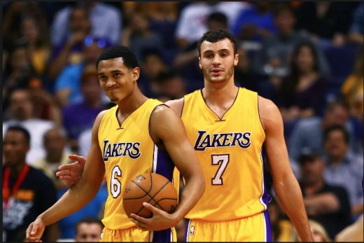 Jordan Clarkson and Larry Nance Jr. are now Cavaliers.