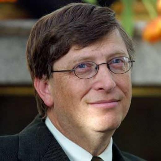 Bill Gates, the Top Richest