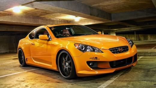 Do you drive an orange car?