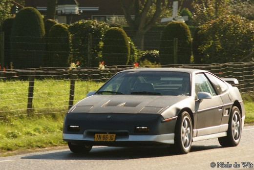 A Black and Silver GT Was My 2nd Fiero