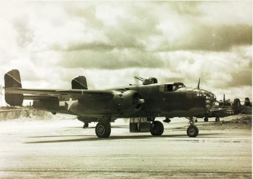 417 Bomb Group B-25