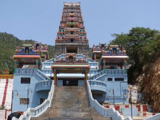 The hilltop Maruthamalai Temple in Coimbatore