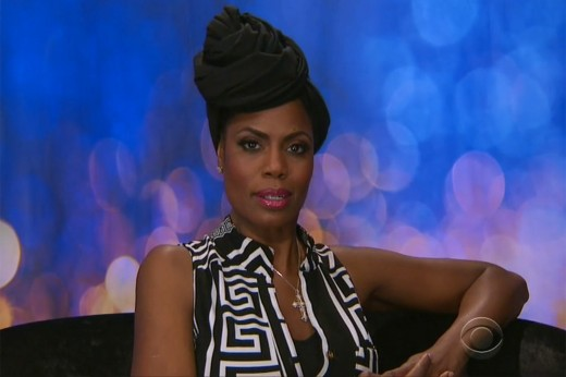 Omarosa in the Diary Room on Big Brother Celebrity