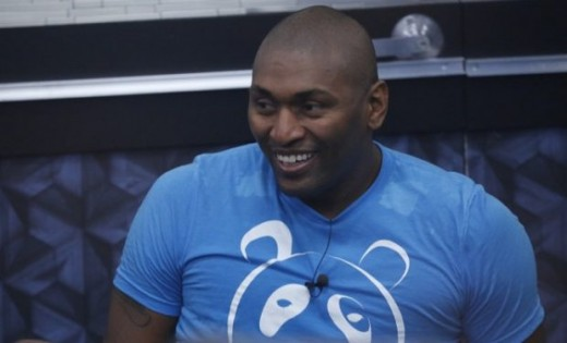 Metta in the Celebrity Big Brother house