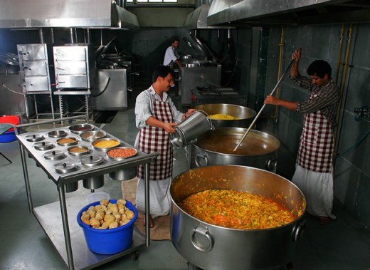 Ashram Kitchen