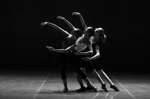 A Female Ballet Dancer