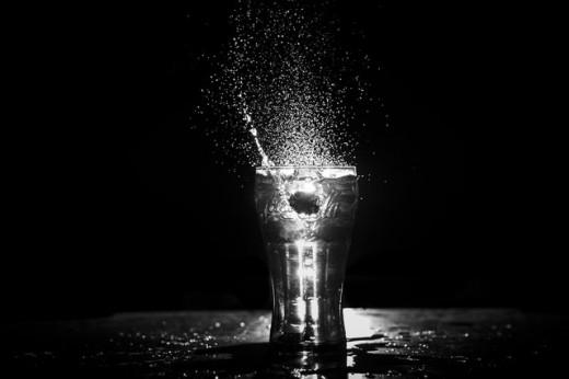 Cup Water Splash