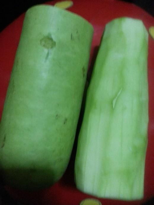 Upo or Bottle Gourd