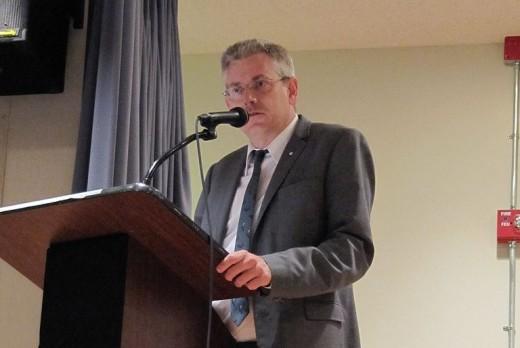 Timmins-James Bay MP Charlie Angus