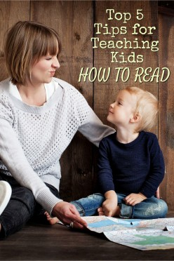 Top 5 Tips for Teaching Kids How to Read