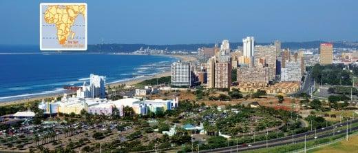 My hometown - Durban.