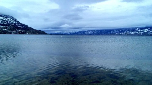 Okanagan Lake Penticton, British Columbia. Where Ogopogo lives. We're neighbors.