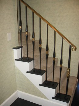 Stair Rail On How To Construct Stair Railings And Stair Rails