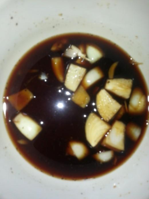 My Vinegar Mixture