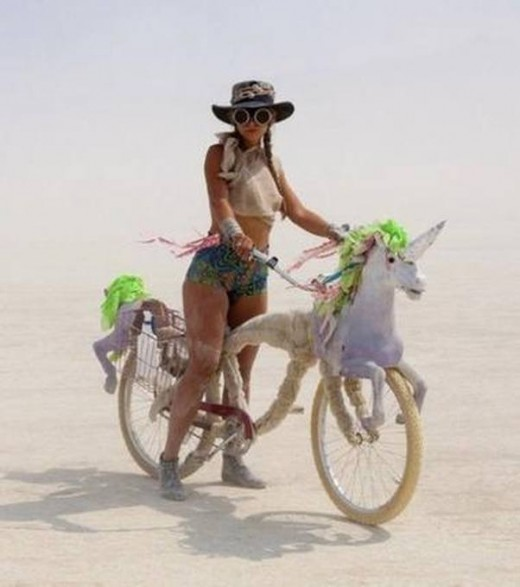 Some bikes are hornier than others.  Unicorns are real!