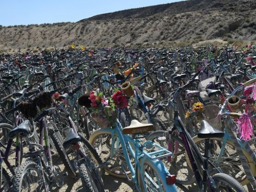In 2017 nearly 5000 bikes didn't make it home, but some did make it to hurricane relief.