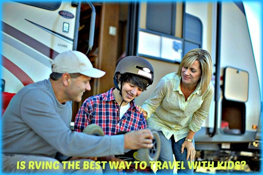 The good and bad points of RVing with children.