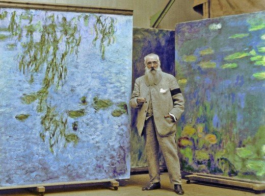 Oscar-Claude Monet was one of the founders and a key figure in the Impressionist movement in the 19th century.