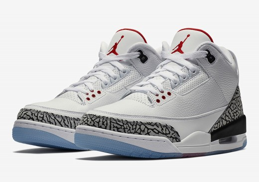 The Air Jordan 3 is getting well deserved attention with rereleases of much loved sneakers.