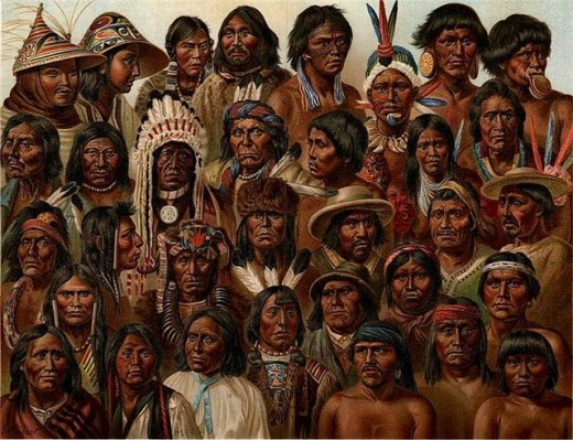 Possibly the Lamanites submerged into other Ancient American societies