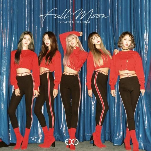 EXID 'Full Moon' album jacket
