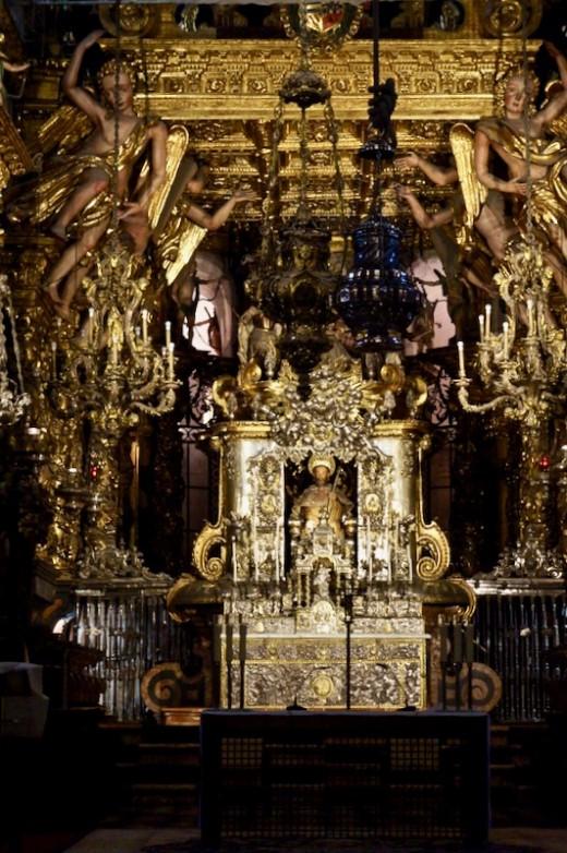 The Altar in Santiago de Compostela