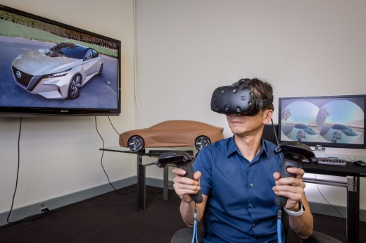 Virtual Reality in Car Design