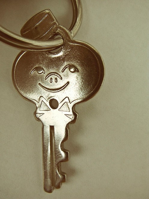 Leave your guests a key so they can come and go.