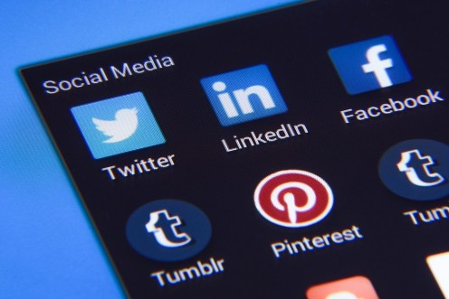 Sites like Twitter, Pinterest, Facebook, and Tumblr are free, but they all have terms of use and privacy policies