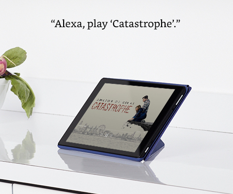 With the all-new Fire HD 10 tablet, all your dad needs to do is tell Alexa to play some music or dim the lights or turn on the TV, and Alexa will do it all for him